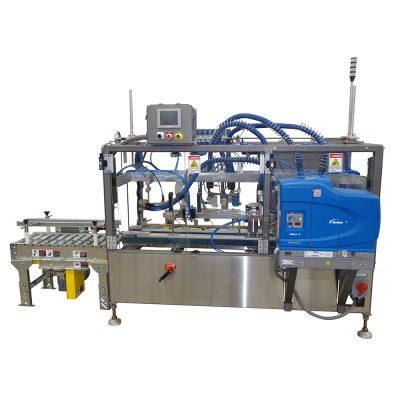 Hamrick - FOL/BIB Case Sealer, Glue Sealer Machine