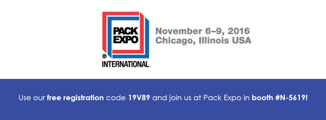 Pack Expo 2016 Website Banner