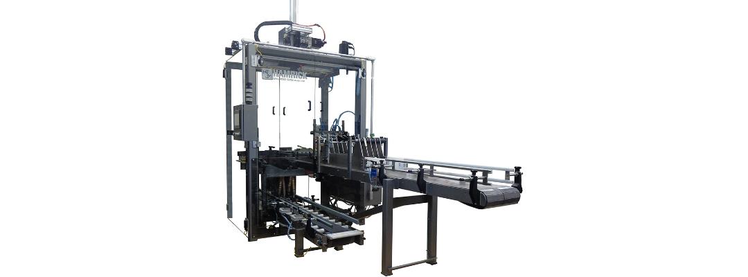 Case Packaging Machine - Hamrick CP20 Pick & Place Case Packer