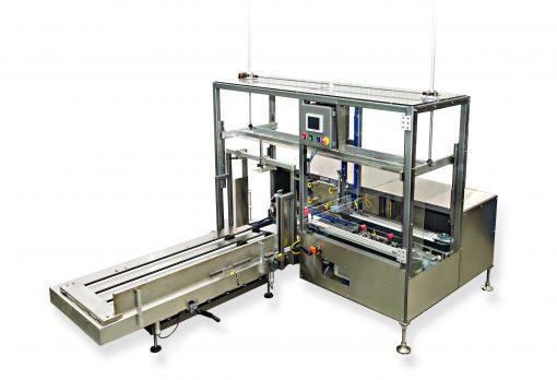 TE15 Case Erector websize Hamrick Packaging Systems